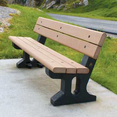 Recycled Material Benches