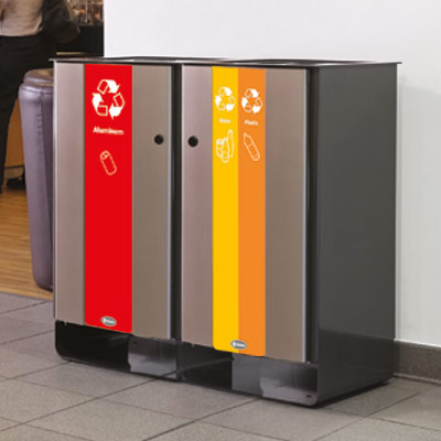 Steel Recycling Bins