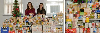 Glasdon supports the Salvation Army Food Bank Appeal