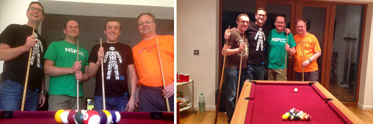 Glasdon Director Swaps Boardroom for Pool Room in Charity Cue-Off