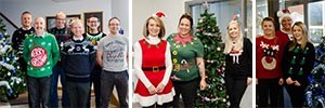 Fundraising in our Festive Knits