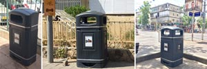 Glasdon Gets the Vote for Holon's New Litter Bins