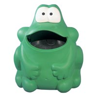 Froggo Animal Shaped Litter Bin