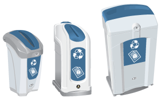 Glasdon Range of Confidential Waste Bins