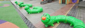 Munchy™ the Caterpillar Seating Sparks Imaginations in Taiwan Playgrounds