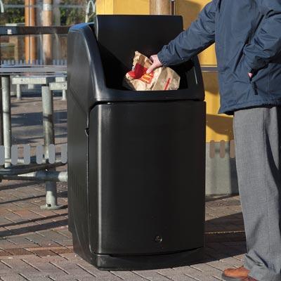 Combo Catering Waste Bin By Glasdon