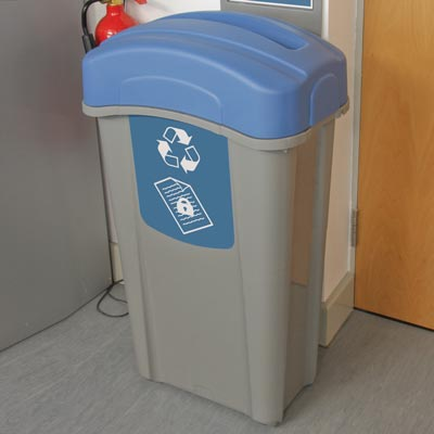 Eco Nexus® 85 Confidential Paper Recycling Bin