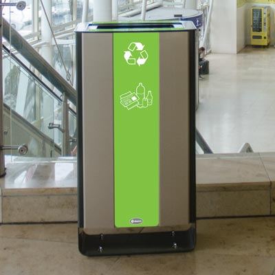 Electra™ 60 Mixed Recyclables Recycling Bin