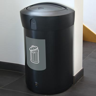 Envoy™ General Waste Swing Top Bin - 110 Ltr