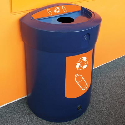 Envoy™ Plastic Bottle Recycling Bin  - 90 Ltr