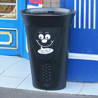 Luna™ Litter Bin with Billy Bin-it™ Symbol