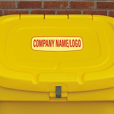 Nestor 400 grit salt storage container - Personalised