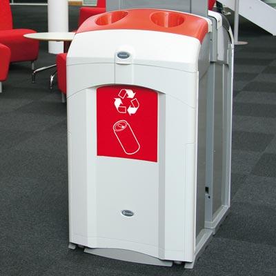 nexus 100 can recycling bin by glasdon