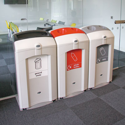 Nexus™ 100 Recycling Bins