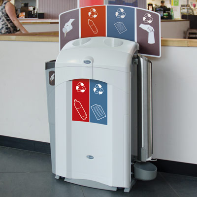 Nexus® 100 Duo Recycling Station