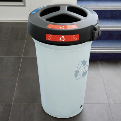 Nexus® 130 Trio Recycling Bin