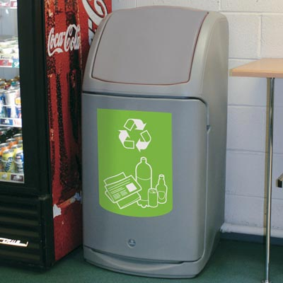 Nexus® 140 Mixed Recyclables Recycling Bin