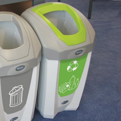 Nexus® 30 Mixed Recyclables Recycling Bin