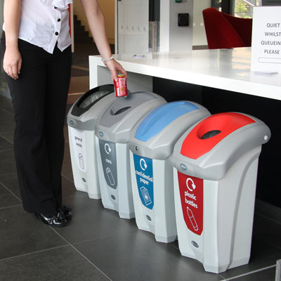 Nexus™ 30 Recycling Bins