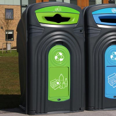 Nexus® 360 Mixed Recyclables Recycling Bin