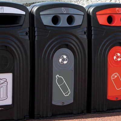Nexus® 360 Plastic Bottle Recycling Bin
