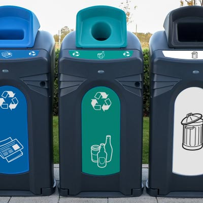 Nexus® City 140 Mixed Glass Recycling Unit