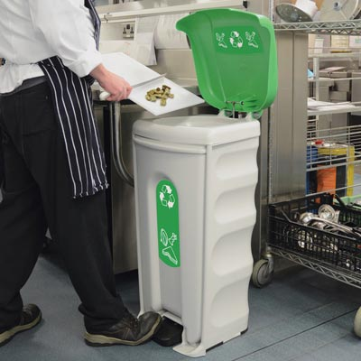 Nexus® Shuttle Food Recycling Waste Bin