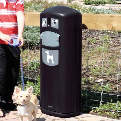 Retriever City™ Dog Waste Bin