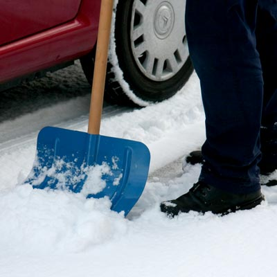 Snowshovel - Simple to use