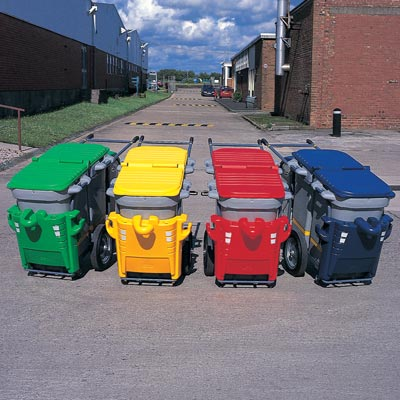 Double Space-Liner litter collection orderly barrow - Colour Range