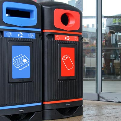 Streamline Jubilee™ Can Recycling Bin