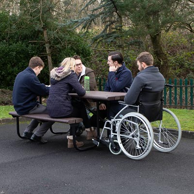 Bowland™ Picnic Table with Wheelchair Access