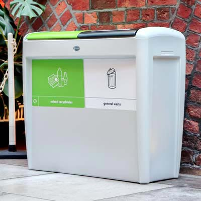 Nexus® Evolution Duo Recycling Bin